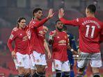 SUSUNAN PEMAIN & Live Streaming MU vs Everton Liga Inggris: Cavani Starter, Adu Magis Bruno-James