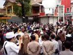 Para Pendukung di Garut Minta Agar Ditangkap Polisi, Mereka Juga Tuntut HRS Dibebaskan
