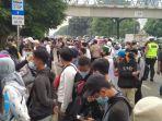 33 Remaja Asal Balaraja Diamankan Polisi saat Hendak Tonton Sidang Rizieq Shihab, Ini Alasannya