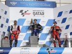 HASIL dan Klasemen MotoGP Qatar 2021 - Maverick Vinales Poin Sempurna, Valentino Rossi Merana