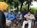 Menaker Ida Tinjau Kelompok Difabel Penerima Bantuan JPS TKM di Boyolali
