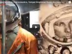 Belka dan Strelka Anjing yang Terbang ke Ruang Angkasa Diabadikan di Museum Cosmonautics