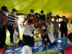 Menko PMK Minta Anak dan Ibu Hamil Dibawa ke Posko Pengungsian Pusat Gempa Sulbar