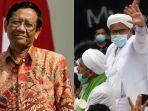 Mahfud MD Tanggapi Tudingan Rizieq yang Salahkan Dirinya soal Kerumunan di Bandara: Alibinya Salah