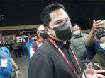 Menteri BUMN Erick Thohir Turut Saksikan Laga Final Piala Menpora 2021