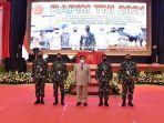 Menhan Prabowo Subianto Bahas Sistem Pertahanan Rakyat Semesta di Rapim TNI Tahun 2021