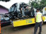 Seorang Pria Terpanggang di Mobil saat Kecelakaan di Tol, Warga Tak Bisa Bantu Padamkan Api