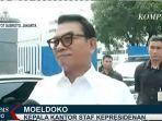 Tiga Pejabat yang Pernyataannya Bisa Merepresentasikan Istana: Moeldoko, Pratikno dan Pramono Anung
