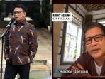 Moeldoko Singgung LBP saat Ditanya Kudeta Partai Demokrat, Rocky Gerung: Mungkin Dijadikan Jembatan