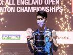 Bangkit dari Keterpurukan, Lee Zii Jia Ceritakan Momen Tersulit sebelum Juarai All England