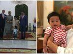 Momen Jokowi Ajak Sedah Mirah Foto Bersama Raja Belanda, Sempat Diulang, Intip Pose Lucunya