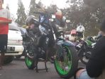 Biker Ini Bilang, Mudik Naik Yamaha Byson Lebih Menyenangkan Ketimbang Mobil Atau Kereta