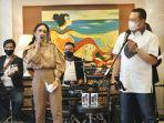 Bamsoet Bersama Krisdayanti Ramaikan Acara Give Away Bamsoet Channel Sosialisasi 4 Pilar MPR RI