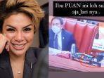 Nikita Mirzani Singgung Puan Maharani Gara-gara Matikan Mik Anggota DPR : Kurang Fair