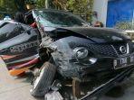 Annisa Bahar Mengaku Tak Tahu Mengapa Mobil Nissan Juke Hitam-nya Tiba-tiba Terpelanting