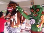 Goblin COC Dijadikan Ogoh-ogoh Nyepi di Palembang