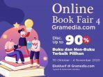 Online Book Fair Gramedia Digelar 30 Oktober-4 November, Ada Diskon Hingga 90 Persen