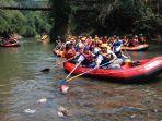 Antisipasi Bencana Hidrometeorologi, Doni Monardo Sambangi 0 Kilometer Sungai Ciliwung
