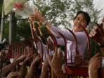 Ratusan Orang Burma di Tokyo Berunjuk Rasa Kecam Kudeta yang Dilakukan Militer Myanmar