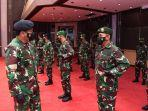 Panglima TNI Terima Laporan Kenaikan Pangkat 34 Perwira Tinggi TNI dari Tiga Matra