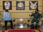 Panglima TNI dan Menkominfo Bahas Rencana Pembangunan 5 Ribu BTS di Papua dan Natuna