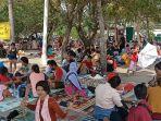 Hari Pertama Lebaran, Masyarakat Padati Kawasan Pantai Ancol Jakarta Utara