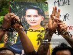 Aparat Keamanan Myanmar Tembaki Demonstran, Tujuh Orang Tewas