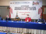 Para Pemenang dan Dewan Juri Anugerah Adinegoro Jurnalistik 2020 Bertatap Muka