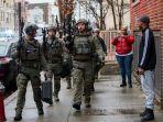 BREAKING NEWS: Baku Tembak Polisi dengan Kelompok Bersenjata di New Jersey, 6 Orang Tewas