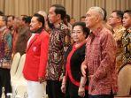 Presiden Jokowi, Megawati, dan Try Sutrisno Hadiri Perayaan HUT ke-18 PKP Indonesia