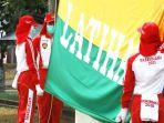 Indri dan Sylvia Senang Bisa Kibarkan Bendera