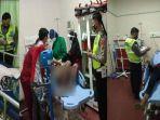 Pelajar Bonceng Tiga Terobos Lampu Merah Lalu Tabrak Minibus di Pamekasan