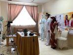 Moment Pelantikan Imam Budi Hartono Jadi Wakil Wali Kota Depok di RS Karena Masih Isolasi Mandiri