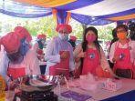 Berdayakan Perempuan, 50 Orang Istri TKBM Pelabuhan Tanjung Priok Dapatkan Pelatihan Memasak