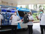 Dukung Penanganan Covid-19 Pelindo III Sumbang Ambulance