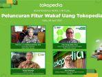 Tokopedia Kenalkan Fitur Wakaf Uang, Pilihan Nilai Nominalnya dari Ceban Sampai Rp 100 Juta