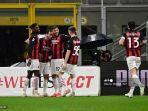 SKOR AC Milan vs Benevento Liga Italia Babak Pertama: Magis Ibra Terasa, Gol Calhanoglu jadi Pembeda