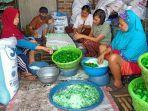 Pembuat Manisan Pala di Dramaga Bogor Mendapatkan Peningkatan Omzet Jelang Idul Fitri 1442 H