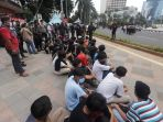 Ribuan Pelajar Ditangkap Terkait Demo di Jakarta, Polisi: Tak Ada Satu pun Mengerti UU Cipta Kerja