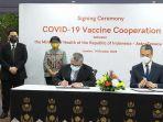 Indonesia Jalin Kesepakatan Penyediaan 100 Juta Dosis Vaksin Astra Zeneca untuk 2021