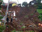 Bantu Evakuasi, Satu Anggota KSPSI Hilang Tertimbun Longsor Sumedang
