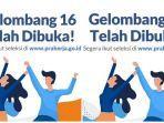Pendaftaran Kartu Prakerja Gelombang 16 Resmi Dibuka, Akses www.prakerja.go.id, Siapkan KTP dan KK