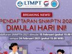 7 Tahapan Daftar SNMPTN 2021, Login snmptn.ltmpt.ac.id, Simak Syarat-syaratnya
