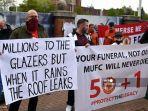 Suporter Manchester United Inginkan Keluarga Glazers Pergi, Bundesliga jadi Acuan