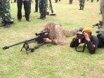 Panglima TNI Dialog Dengan Sniper Korps Paskhas yang Mampu Bidik Kepala dari Jarak 1.200 Meter