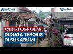 Penggerebekan Rumah Terduga Teroris di Sukabumi, Ditemukan Kabel dan Serbuk Berwarna Hitam