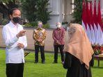 Dampingi Presiden Salurkan BPUM, Dirut BRI Ungkap Strategi Optimalkan Penyaluran BPUM 2021