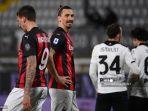 Skuat Compang-camping AC Milan Tantang Fiorentina: Ibrahimovic Sendirian, Rossoneri Miskin Penyerang