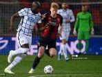 HASIL LIGA ITALIA: Inter Milan Curi 3 Poin dari Bologna, Lukaku Bawa Nerazzurri Unbeaten 9 Laga