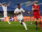 HASIL Babak I Real Madrid vs Liverpool, Los Blancos Unggul 2-0 Berkat Gol Vinicius Junior & Asensio